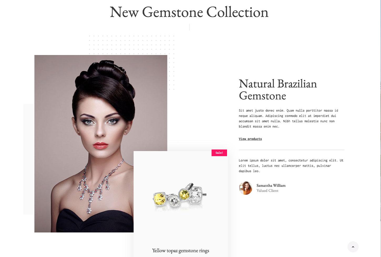 Online Store - bizProWeb Website Builder Starter Skin Design