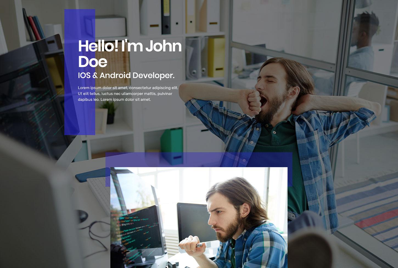 Business and Portfolio - bizProWeb Website Builder Starter Skin Design