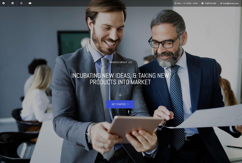 Business and Finance - bizProWeb Website Builder Starter Skin Design